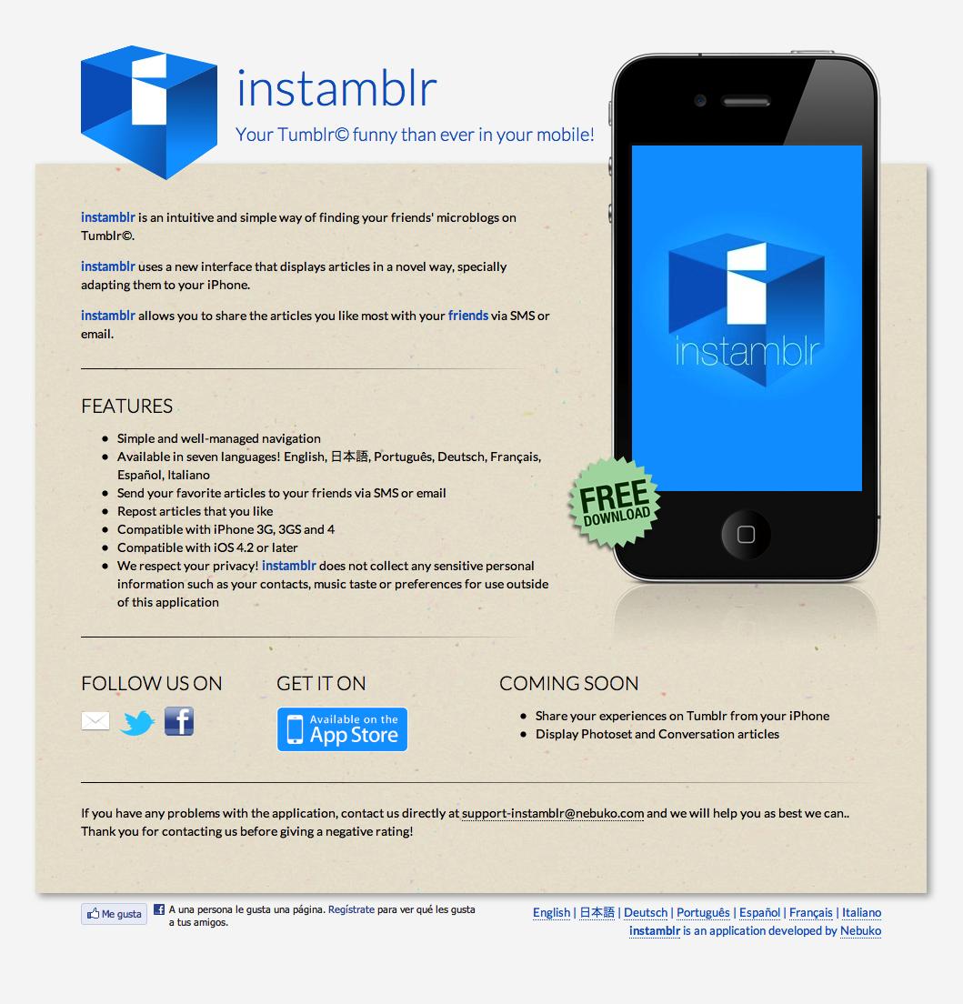 instamblr.com